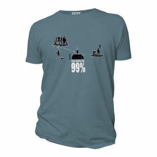 "Tee-shirt Bio Homme ""99%"""