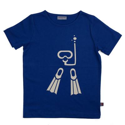 """T-shirt Bio Bébé """"plongeur"""""""