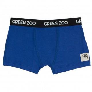 Boxer bleu garçon en bambou
