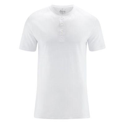 Tee shirt blanc léger homme en chanvre coton biologique