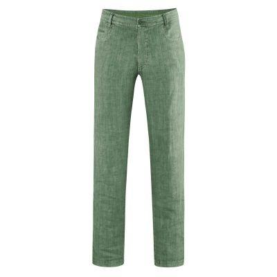 "pantalon vintage ""métro"" herbe"