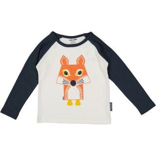 T-shirt raglan anthracite coton bio renard