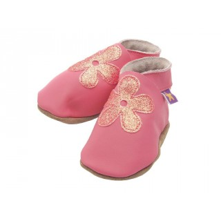 Chaussons Starchild Blossom pink glitter