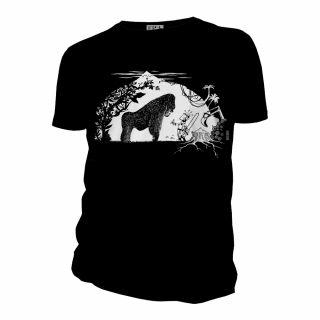 Tee-shirt Gorille vert