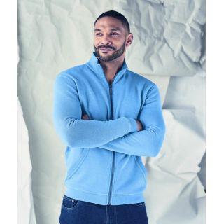 Veste de survêtement sweat zippé homme en chanvre coton bio