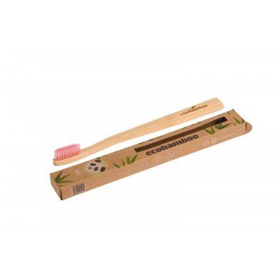 Brosse à dents bambou poils souples 100% biodégradable et vegan
