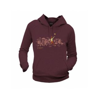 "Sweat capuche femme coton biologique ""Be different, Be free"""