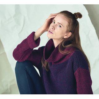 Gros pull femme chanvre et coton bio