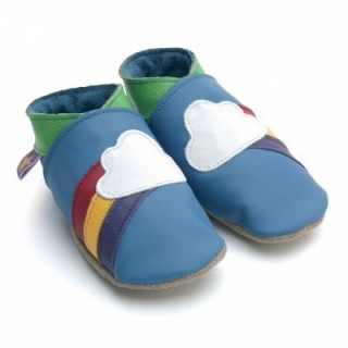 Chaussons Starchild Rainbow blue