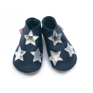 Chaussons Starchild Star navy silver