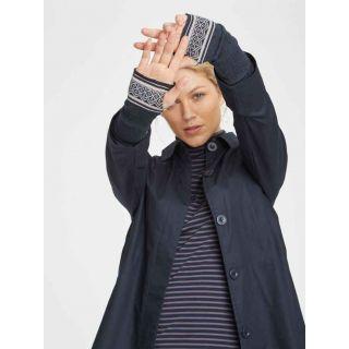 Gants laine et coton biologique gris