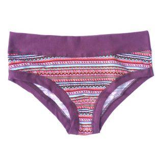 Slip panty coton bio lavande, multicouleur