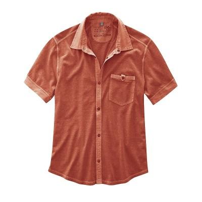 Poloshirt Pablo Hempage couleur rouge