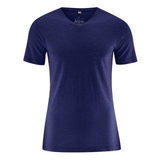 T-shirt col V coton bio chanvre Vince
