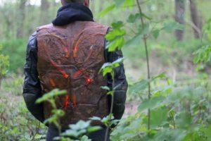 Promeneur dans les bois