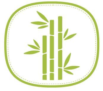 en fibre de bambou
