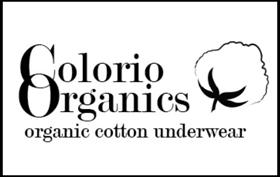marque sous vêtements féminins Colorio Organics